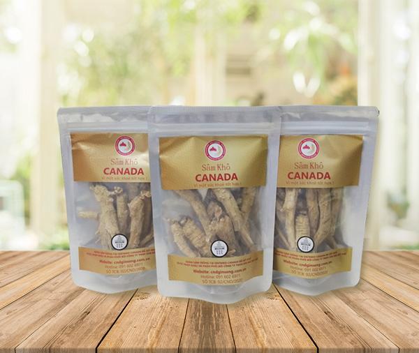sâm khô canada -medium