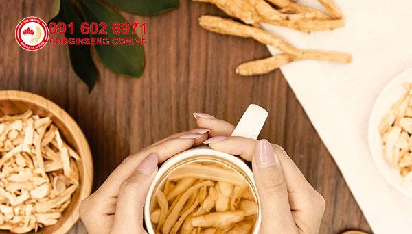 chất ginseng tăng cường sức khỏe trong nhân sâm
