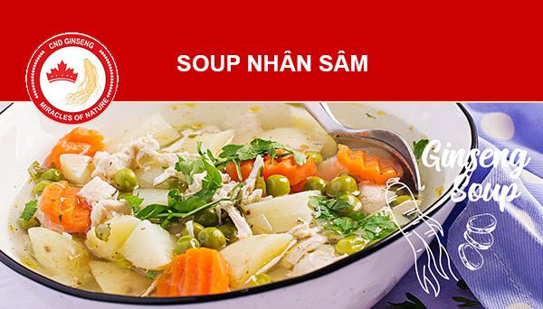 soup nhân sâm